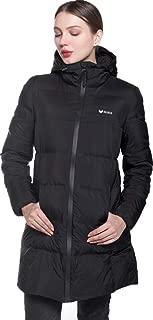 Beinia Valuker Women's Seamless Hooded Down Coat Jacket Puffer Parka Jacket