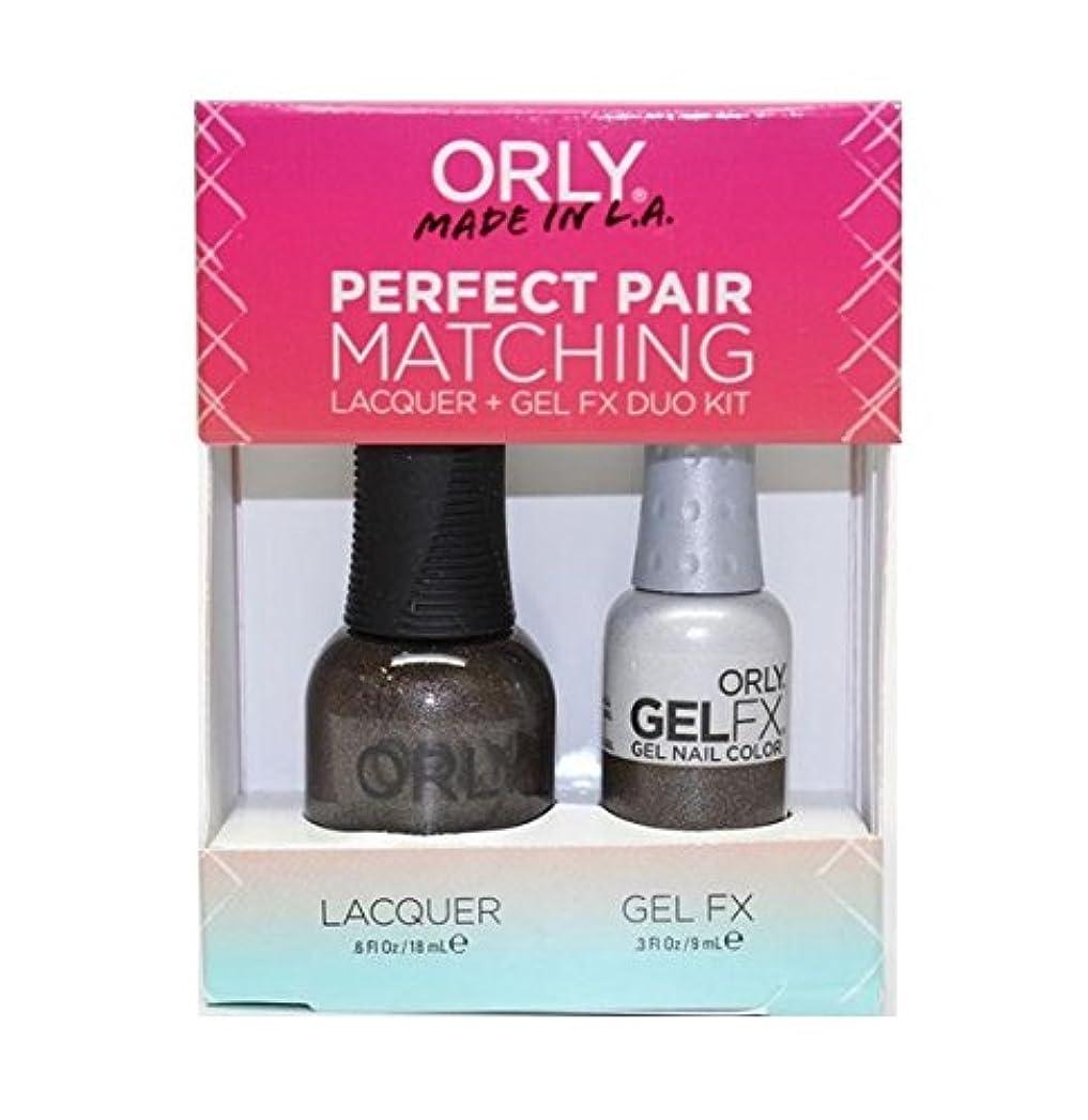 達成情熱的組Orly - Perfect Pair Matching Lacquer+Gel FX Kit - Seagurl - 0.6 oz / 0.3 oz