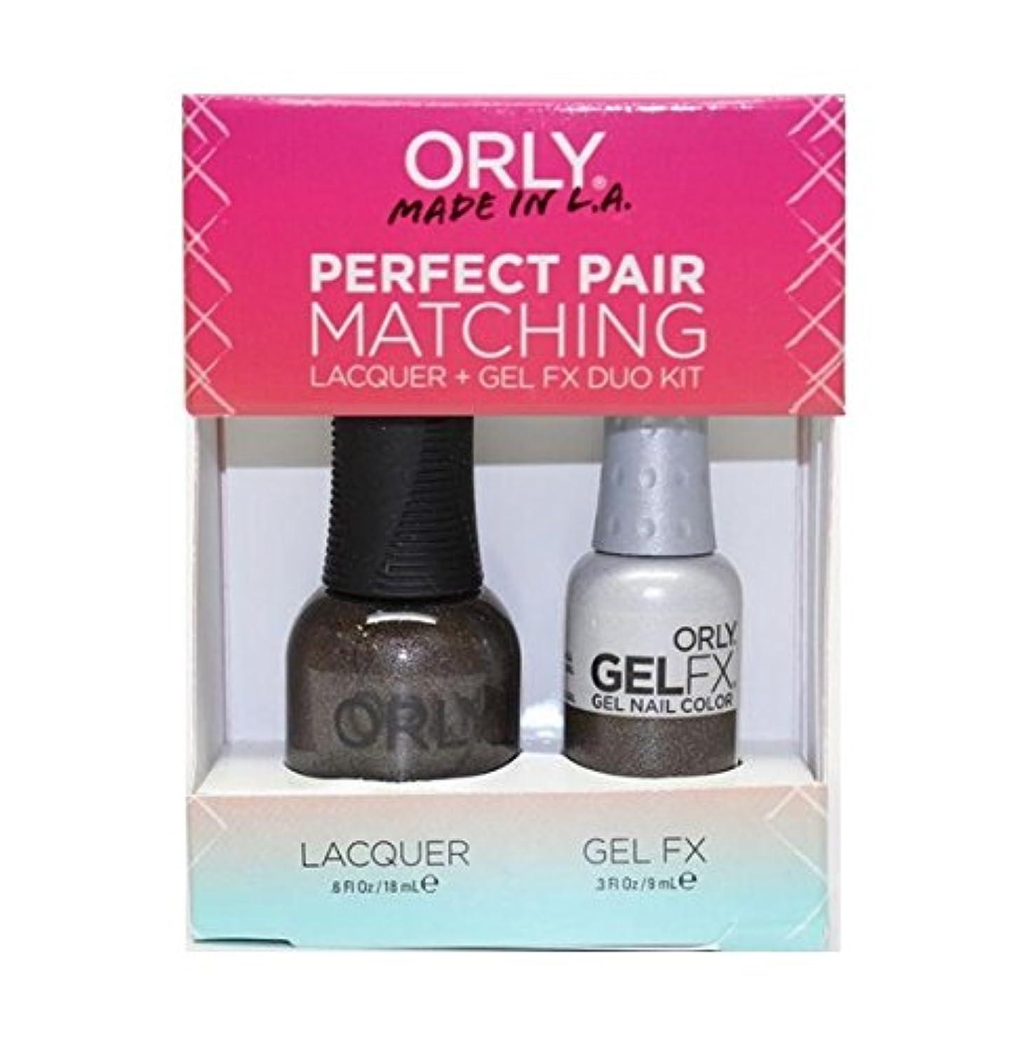 組み合わせ意義オプショナルOrly - Perfect Pair Matching Lacquer+Gel FX Kit - Seagurl - 0.6 oz / 0.3 oz