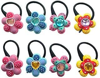 AVIRGO Bag Tag Identify your Luggage Set 10 (8 diamond flower #5)