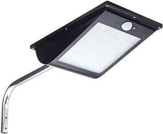 Waterproof 10W 81LED Solar Light Sensor Street Light Parking Porch Dim Wall Lamp White Light LED Solar Lights