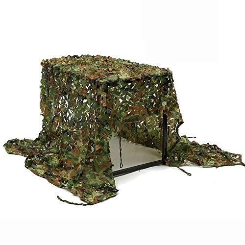WY-camo Red de Camuflaje de Camuflaje del Bosque Red de Camuflaje para sombrilla Camping Ocultar Caza Tiro de Tiro Protector Solar Redes Militares 2 * 3 m (Size : 4 * 8m)