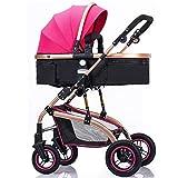 ZhiGe Poussette pour bebe Poussette High-avis peut être allongée chariot pliable bébé poussette enfants