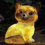 Luz solar para jardín con diseño de animales, decoración...