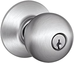 Schlage F80CSVORB626 Orbit Knob Contractor Series Storeroom Lockset