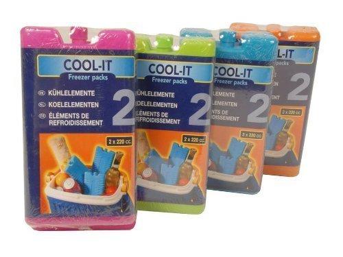 8 x Kühl-Akku Kühlakkus Kühlakku Kühlelement je 220 ml