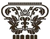 mantiburi Wandtattoo No.RS29 Die Säulen von Aphrodite, Farbe: Creme; Maße: 270 x 108 cm