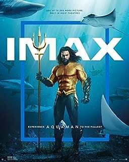 AQUAMAN IMAX (2018) Original Authentic Movie Poster 27x40 - Double - Sided - Jason Momoa - Amber Heard - Patrick Wilson