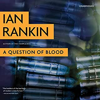 A Question of Blood audiobook cover art