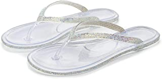 bjyxszd Beach Shoes Shower Gym Flip Flops,Sandal Slipper Comfortable Shower Shoe Slip,Clip on sandals color diamonds side ...