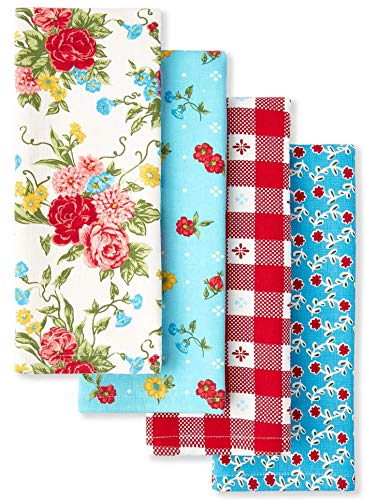 The Pioneer Woman Sweet Rose Kitchen Towels, Set of 4