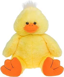 Cuddly Soft 16 inch Stuffed Yellow Plush Duck.We stuff 'em.you love 'em!