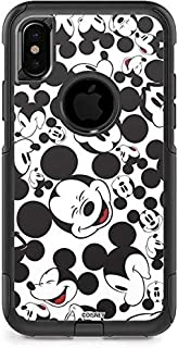 Skinit Mickey Mouse OtterBox Commuter iPhone X Skin - Mickey Mouse Design - Ultra Thin, Lightweight Vinyl Decal Protection