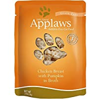 Applaws Chicken and Pumpkin Pouch Canned Cat Food 2.4oz 2.47 Oz