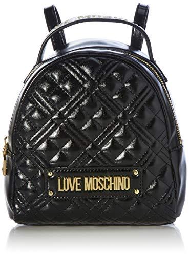 Love Moschino Jc4201pp0bka0, Mochila para Mujer, Negro, Normale