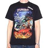 Old Skool Hooligans Judas Priest T Shirt - Painkiller 100% Official Fully Screenprinted Black