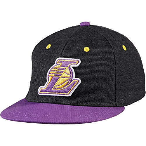 Gorra adidas – Nba Fitted Los Angeles Lakers Negro/Morado S