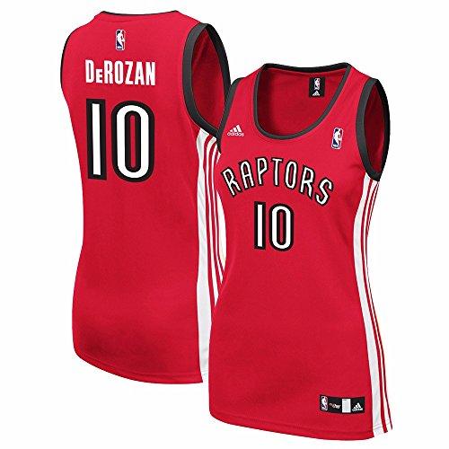 adidas DeMar DeRozan Toronto Raptors NBA Women's Red Replica Jersey (2XL)
