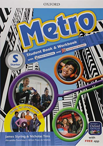 Metro Starter - Student Book / Workbook Pack