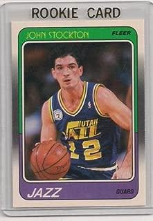 1988 Fleer John Stockton Rookie Card