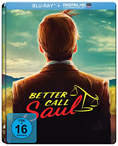 Better Call Saul - Die komplette erste Season (Steelbook) (exklusiv bei Amazon.de) [Alemania] [Blu-ray]