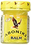 Aboniki Balm for Muscle Relief and Pain, 25g, (2pack)