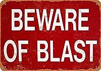 Beware Of Blast ティンサイン ポスター ン サイン プレート ブリキ看板 ホーム バーために
