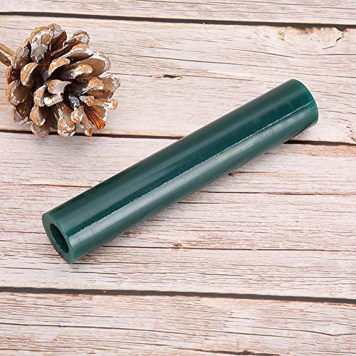 Männer Wachs Tube Ring Form Wax Tube, Herstellung Schmuck Ring Modell Schmuck Wax Tube, Grün hart für Schmuckhersteller DIY Enthusiast Schmuck(Men's Green Wax Tube)