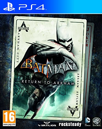 Batman: Return To Arkham (Asylum + Arkham City) Ps4- Playstation 4