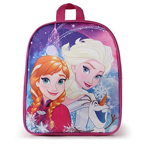 Disney Frozen Sisters and Olaf Mochila Infantil 31 Centimeters 7 Rosa (Pink)