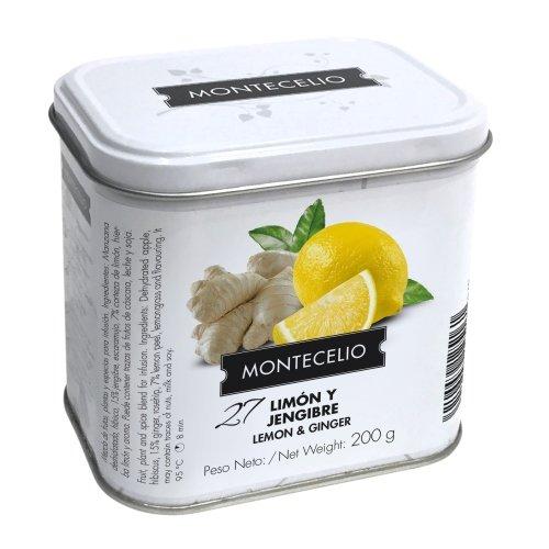 Montecelio - Infusión en Rama Limón Jengibre - 200 g