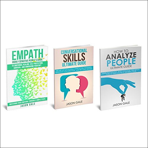 How to Analyze People, Conversational Skills, Empath Highly Sensitive People 3 Manuscripts in 1 Book cover art