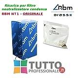 RBM 4CAJCS02 Ricarica neutralizzatori Filtro NT1 Carica neutralizzante di carbonato...