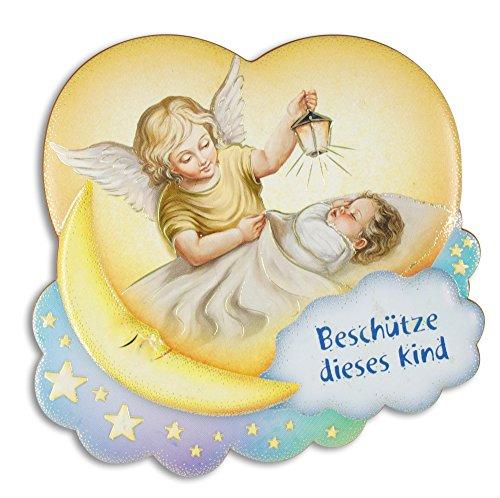 Unbekannt Engelbild 'Beschütze Dieses Kind'