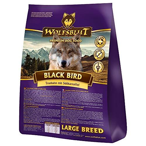 Wolfsblut | Black Bird Large Breed | 15 kg | Truthahn | Trockenfutter | Hundefutter | Getreidefrei