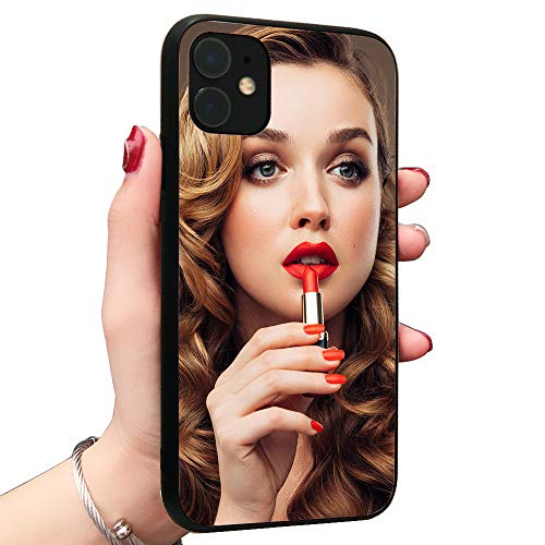 Upgraded Real Mirror Case Clear Back Mirror Luxury TPU Bumper Case Anti-Scratch Bright Reflection Protective Case Cover for Apple iPhone(11 Pro)