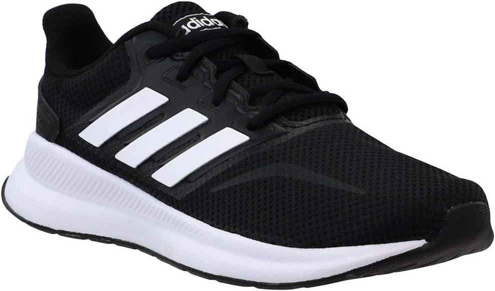 adidas K Runfalcon Black/White Running Shoes 4