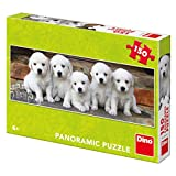 Dino Toys (DINR7) Puzzle Five Puppies 150 pcs Panorámica, multicolor Toys sro Dino_393240 , color/modelo surtido