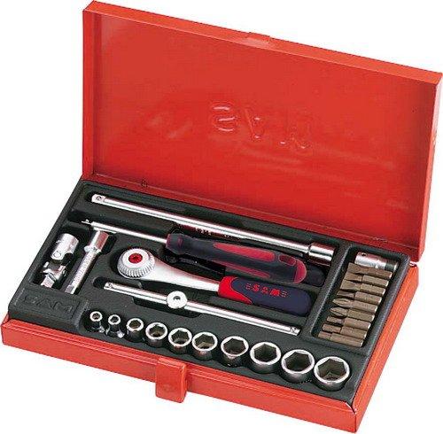 Rodac SAM-73-R26A box met 26 gereedschappen 1/4