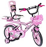 Speed Bird Baby Cycle 14-T Robust Double Seat Kid Bicycle for Boys