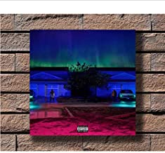 Zahuishile Big Sean I Decided Music Rapper Album Cover Fabric Home Decoration Art Poster Wall Canvas 40x60cm Without Frame