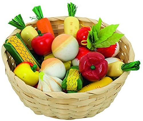 Goki Vegetables in a Basket by GoKi