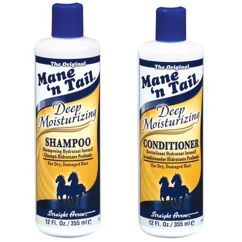 Man  N Tail Deep Moisturizing Shampoo and Conditioner Set, 355ml