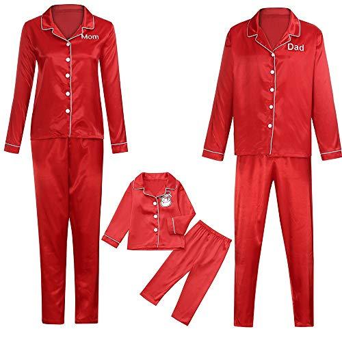 Familie Bijpassende Kerst pyjama Set 2 Stks Vrouwen Mannen Kids Kinder Blouse Tops + Broek Moeder Papa Baby Jongen Meisje Slaapmode Nachtkleding Outfits