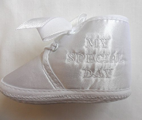 Little Jems , Chaussures souple pour bébé (garçon) ivoire 3-6 mois