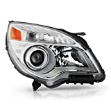 ACANII - For [Halogen Model Only] 2010-2015 Chevy Equinox LTZ Projector Headlight Headlamp Assembly Right Passenger Side