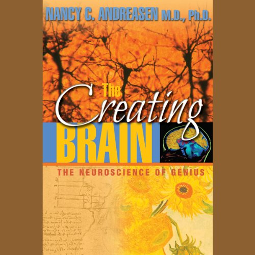 The Creating Brain audiobook cover art