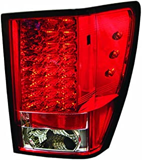 IPCW LEDT-5005R2 Jeep Grand Cherokee Ruby Red LED Tail Lamp - Pair