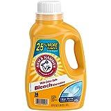 Arm & Hammer Clean Burst with Color-Safe Bleach, 26 Loads Liquid Laundry Detergent, 50 Fl oz