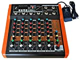 Stranger SXR6-6 Channel Echo Audio Mixer with USB and Bluetooth